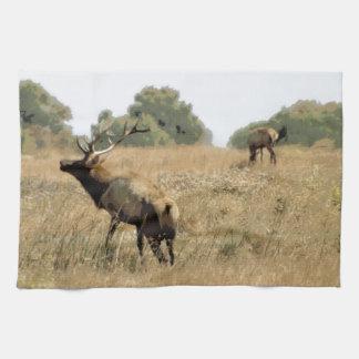 Bull Elk Towel