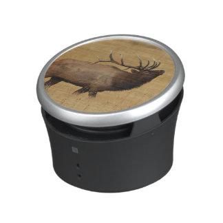 Bull Elk with Head Back Bluetooth Speaker