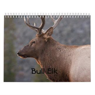 Bull Elk Calendar