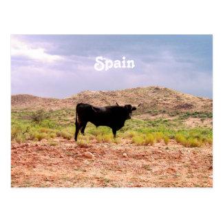 Bull en España Postales