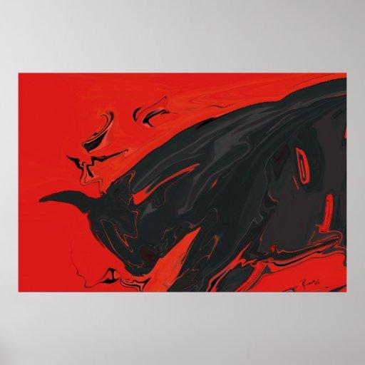 Bull enojada 2 póster