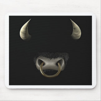 Bull Face (Full) Mouse Pad