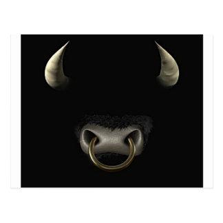 Bull Face (Full) Postcard