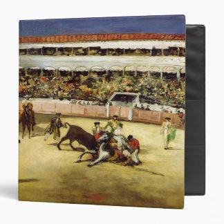 Bull Fight, 1865 3 Ring Binders