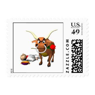 Bull Fighter 3 Postage
