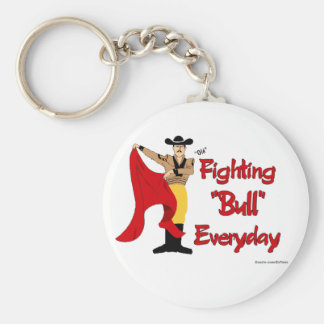 Bull Fighter Keychain