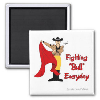 Bull Fighter Magnet