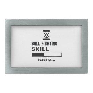 Bull Fighting skill Loading...... Belt Buckle