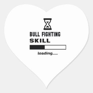 Bull Fighting skill Loading...... Heart Sticker