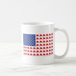 Bull-Flag Coffee Mug