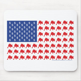 Bull-Flag Mouse Pad