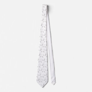 Bull Folk Art Necktie