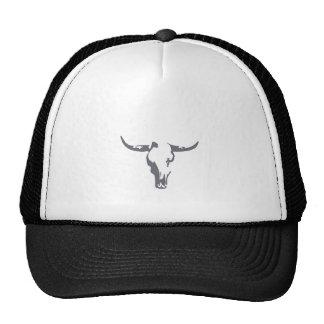 Bull fresca en su cabeza gorras