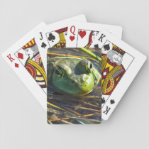 Bull Frog Playing Cards