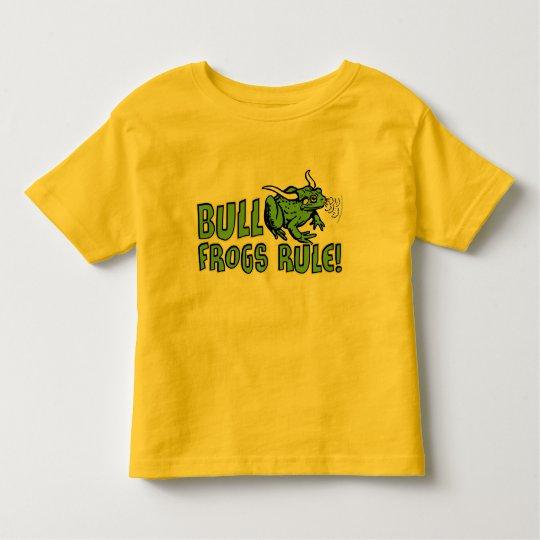 Bull Frogs Rule! T-Shirt