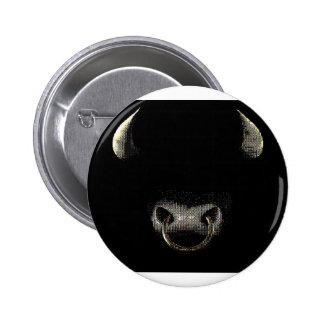 Bull hace frente (el punto) pin