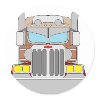 bull hauler truck sticker
