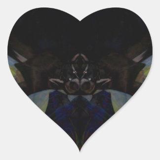 Bull Heart Sticker