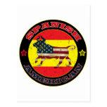 Bull hispanoamericana tarjeta postal