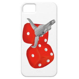 Bull Horns Snake Eyes Craps Dice iPhone SE/5/5s Case