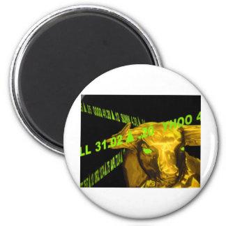Bull Imán Redondo 5 Cm