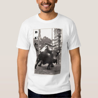 BULL in NYC t-shirt