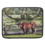 Bull in Pasture Sleeves For MacBook Pro
