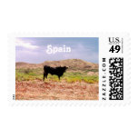 Bull in Spain Postage Stamp