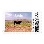 Bull in Spain Stamp