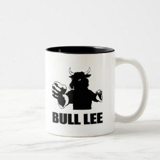 Bull Lee Two-Tone Coffee Mug