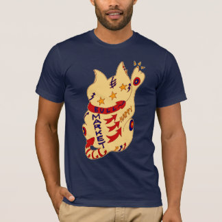bull market happy cat T-Shirt