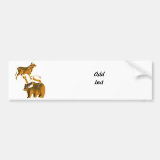 Bull Market Vs Bear Market Bumper Stickers
