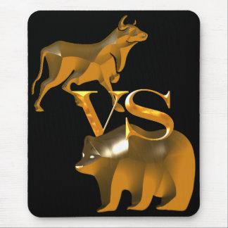 Bull Market Vs Bear Market Mouse Pad