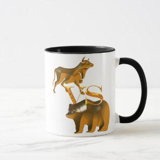 Bull Market Vs Bear Market Mug