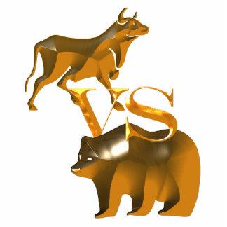 Bull Market Vs Bear Market Photo Cutout