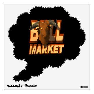 Bull Market Wall Sticker