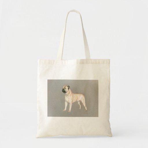 Bull Mastif Tote Bags