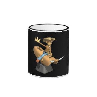 Bull mecánica tazas