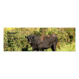 Bull Mini Business Card