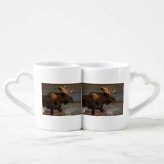 Bull Moose Coffee Mug Set