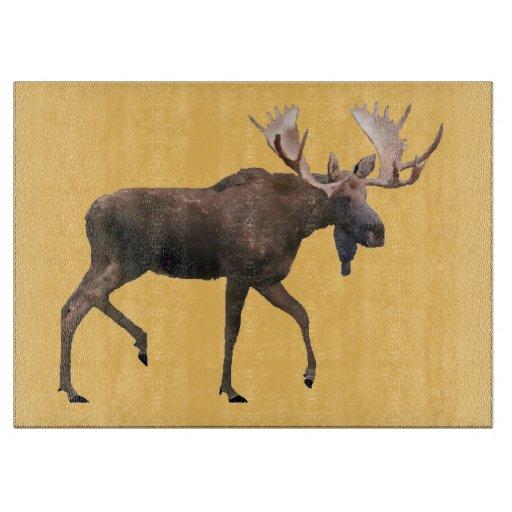 Bull Moose Cutting Board
