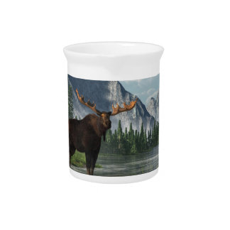 Bull Moose Drink Pitcher