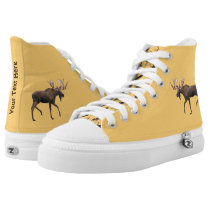 Bull Moose High-Top Sneakers