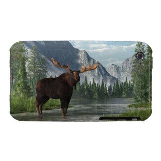 Bull Moose iPhone 3 Case