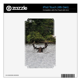 Bull Moose iPod Touch 4G Decals