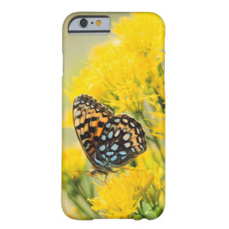 Bull Moose jousting in field with Cottonwood Trees Barely There iPhone 6 Case
