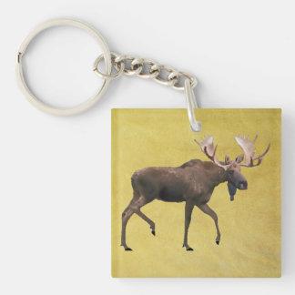 Bull Moose Keychain