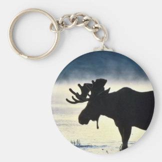 Bull moose keychains