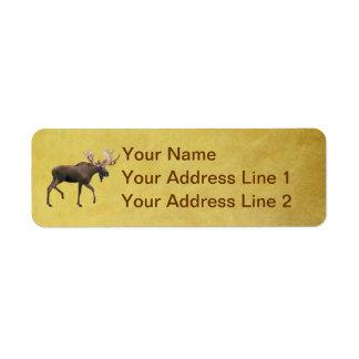 Bull Moose Label
