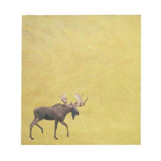 Bull Moose Notepad